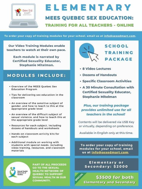 Elementary online training